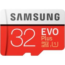Samsung 32GB EVO Plus Micro SD (SDHC) Card 95MB/s R, 20MB/s W