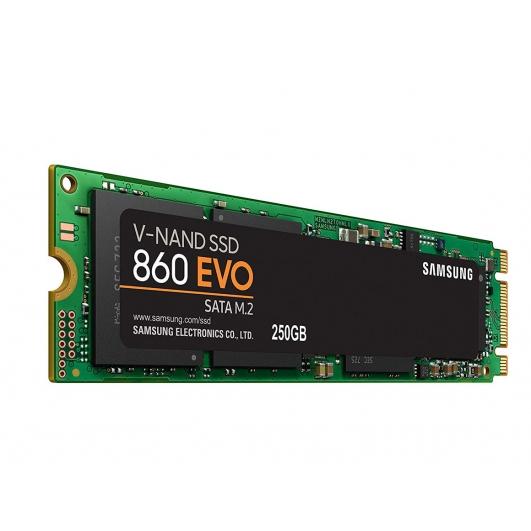 Samsung 250GB 860 EVO SSD M.2 (2280), 520MB/s R, 550MB/s W