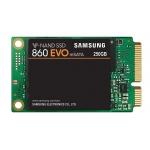 Samsung 250GB 860 EVO SSD mSATA 3.0 (6Gb/s), 550MB/s R, 520MB/s W