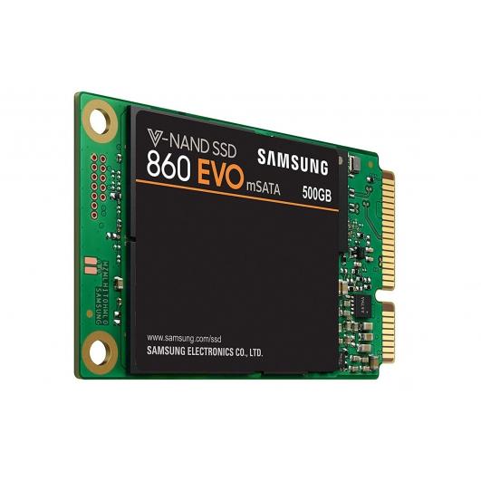 Samsung 500GB 860 EVO SSD mSATA 3.0 (6Gb/s), 550MB/s R, 520MB/s W