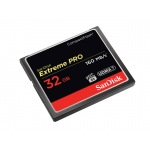 SanDisk 32GB Extreme Pro Compact Flash (CF) Memory Card 160MB/s