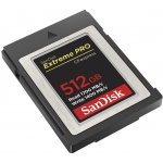 SanDisk 512GB Extreme Pro CFexpress Card, Type B, 1700MB/s R, 1400MB/s W