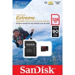 SanDisk 128GB Extreme Action Cam microSDXC Memory Card U3 90MB/s