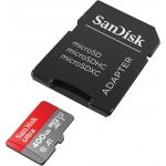 SanDisk 400GB Ultra microSDXC (microSD) Memory Card U1 100MB/s A1