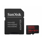 SanDisk 128GB Extreme Micro SD (SDXC) Card U3, V30, A1, 100MB/s R, 60MB/s W