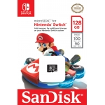 SanDisk 128GB Nintendo Switch microSDXC (microSD) Memory Card U3 100MB/s