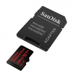 SanDisk 128GB Extreme Plus microSDXC Memory Card U3 100MB/s V-Class 30 A1