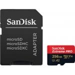 SanDisk 256GB Extreme Pro microSDXC Card U3 V30 A2 170MB/s R 90MB/s W + USB 3.0 Reader