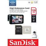 SanDisk 128GB High Endurance Micro SD Card