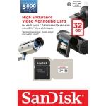 SanDisk 32GB High Endurance Micro SD (SDHC) Card 20MB/s R, 20MB/s W