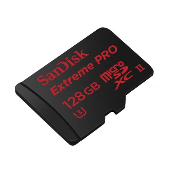sandisk 128gb extreme pro microsdxc memory card u3 275mb s with usb 3 0 reader. Black Bedroom Furniture Sets. Home Design Ideas