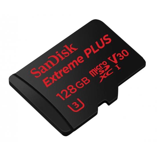 buy sandisk 128gb extreme plus micro sdxc memory card u3 95mb s. Black Bedroom Furniture Sets. Home Design Ideas