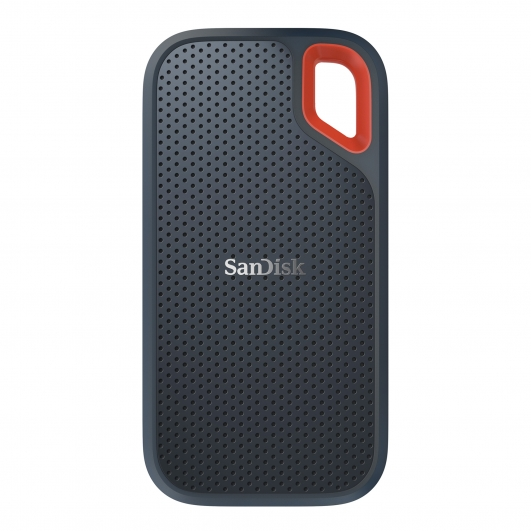 SanDisk 500GB Extreme Portable SSD USB 3.1, Type-C, 550MB/s R