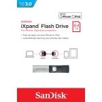 SanDisk 64GB iXPand USB 3.0 Memory Stick Flash Drive