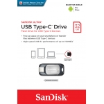 SanDisk 32GB Ultra USB 3.1 Type C Memory Stick Flash Drive