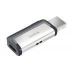 SanDisk 64GB Ultra Dual USB 3.1 Type C Memory Stick Flash Drive