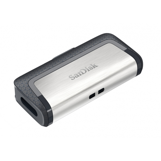 SanDisk 256GB Ultra Dual Type-C Flash Drive USB 3.1, 150MB/s