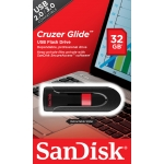 SanDisk 32GB SDCZ60 Cruzer Glide USB 2.0 Memory Stick Flash Drive