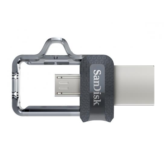 Sandisk 128gb Usb 3 0 Ultra Dual M3 0 Otg Micro Usb Flash Drive