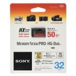 Sony 32GB Pro Duo HX HG Memory Stick Card