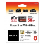 Sony 8GB Memory Stick Pro Duo HX HG Card