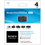 Sony 4GB Pro Duo Memory Stick Card