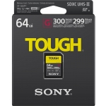 Sony 64GB Tough SDXC (SD) Memory Card UHS-II U3 V90 300MB/s R 299MB/s W