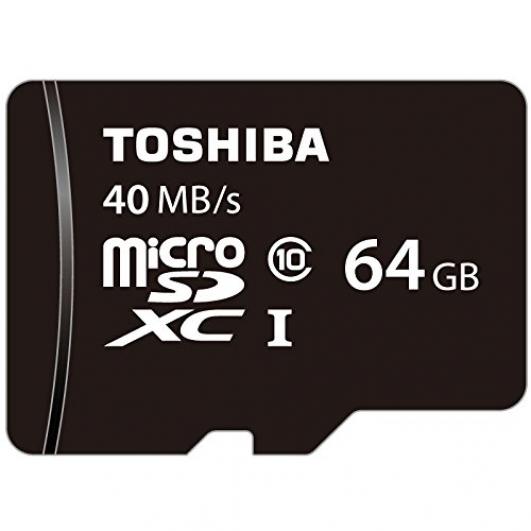 Toshiba 64GB Micro SDXC Memory Card U1 40MB/s for Samsung  Galaxy Note 3 N9000 Mobile Phone